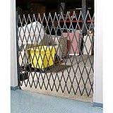 5-1/2'W Single Folding Security Gate, 5'H
