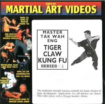 Tiger Claw Kung Fu Video 2: Tiger Claw Buddha Hand Form, Tiger Claw Sabre & Weapon Vs. Weapon Techniques