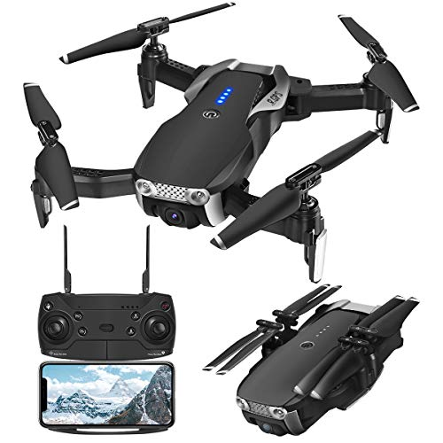 GPS Drones with Camera 1080P for Adults, EACHINE E511S WiFi FPV Live Video with 1080P Adjustable Wide-Angle Camera and GPS Return Home, 16 Mins Long Flight Time RC Quadcopter Helicopter