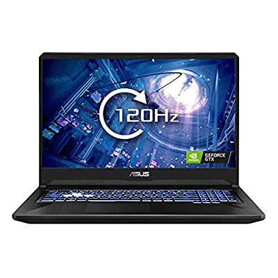 ASUS TUF FX705 - 17.3 Inch 120 Hz Full HD Gaming Laptop - AMD Ryzen R5-3550H, Nvidia GeForce GTX 1650 4 GB, 8 GB RAM, 512 GB NMVe PCI-e SSD, Windows 10) by Asus