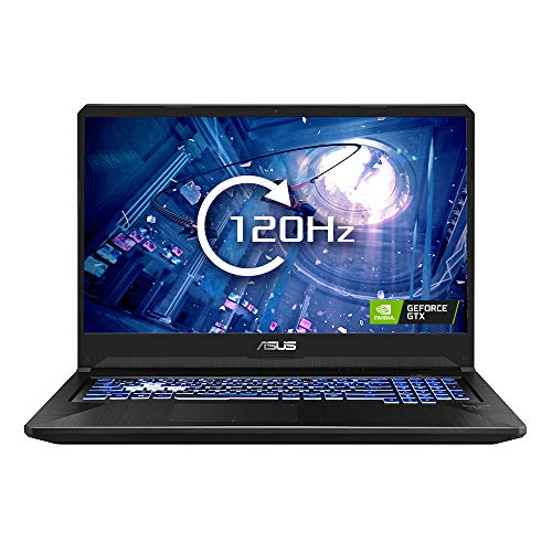 ASUS TUF FX705 - 17.3 Inch 120 Hz Full HD Gaming Laptop - AMD Ryzen R5-3550H, Nvidia GeForce GTX 1650 4 GB, 8 GB RAM, 512 GB NMVe PCI-e SSD, Windows 10)
