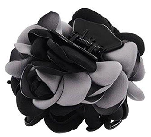 Fleurs/cheveux Barrette pince à cheveux pour les femmes/Lady/Girls Hair Ornament, Gris # 26