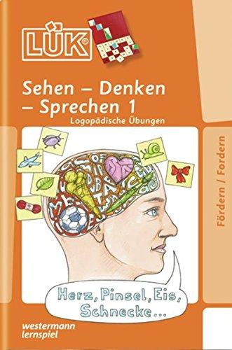 LÜK: Sehen-Denken-Sprechen 1: Logopädische Übungen