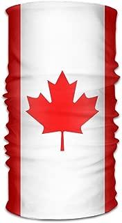 AP.Roon Canadian Flag Women Men Cute Headwear Bandanas - Multifunctional Headband Sports Magic Scarf For Outdoor Activity