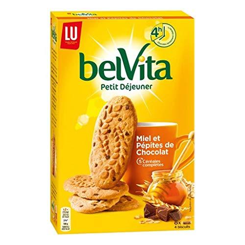 Lu Belvita Petit à © Fasten und Honig pA © Milben Schokolade 5 Cã © à © Ales Complètes 400G (6er-Set)
