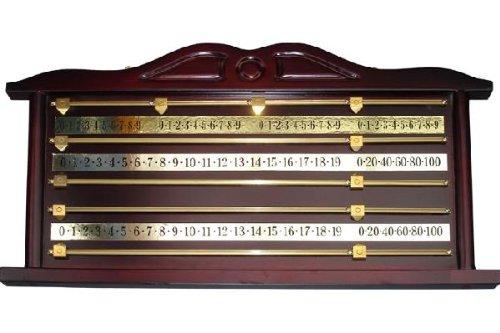 Snooker Punktetafel, mahagoni