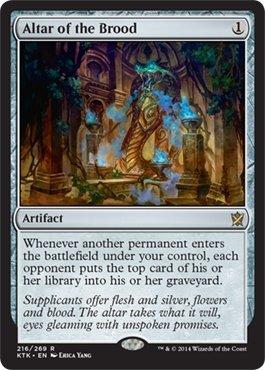 Magic The Gathering - Altar of The Brood (216/269) - Khans of Tarkir