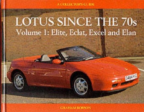 Elite, Eclat, Excel, Elan (v. 1) (A collector's guide)
