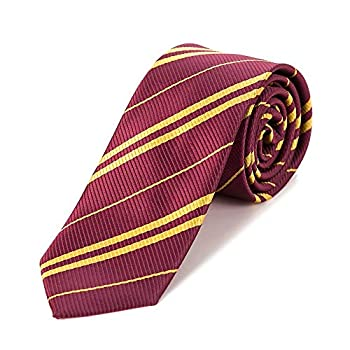 MISS FANTASY Cosplay Tie for Birthday Party Costume Accessory Necktie for Halloween Party Red Tie for Harry  Red