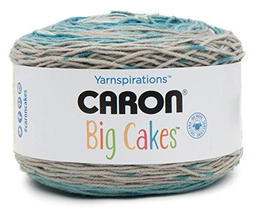 Caron Big Cakes Self Striping Yarn ~ 603 yd/551 m/10.5oz/300 g Each (Blue Macaron)