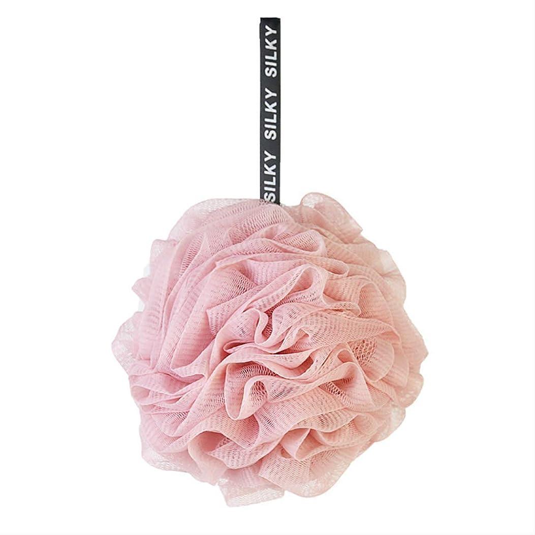 ゲート結び目あざ和風の大きな柔らかい色に一致するお風呂ボールお風呂花良いお風呂ボールお風呂ボールアダルト子供 50g ピンク