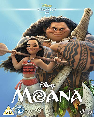 Moana [Blu-ray] [UK Import]