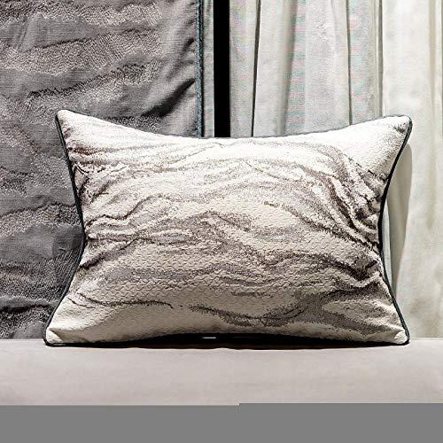 QXbecky Cojines Sofas Cojines y Accesorios Fundas de Cojines Shanhe Verde Oscuro Estilo Chino clásico Generoso Funda de Almohada Cintura Funda de Almohada sofá de Sala de Estar Grande 60 cm