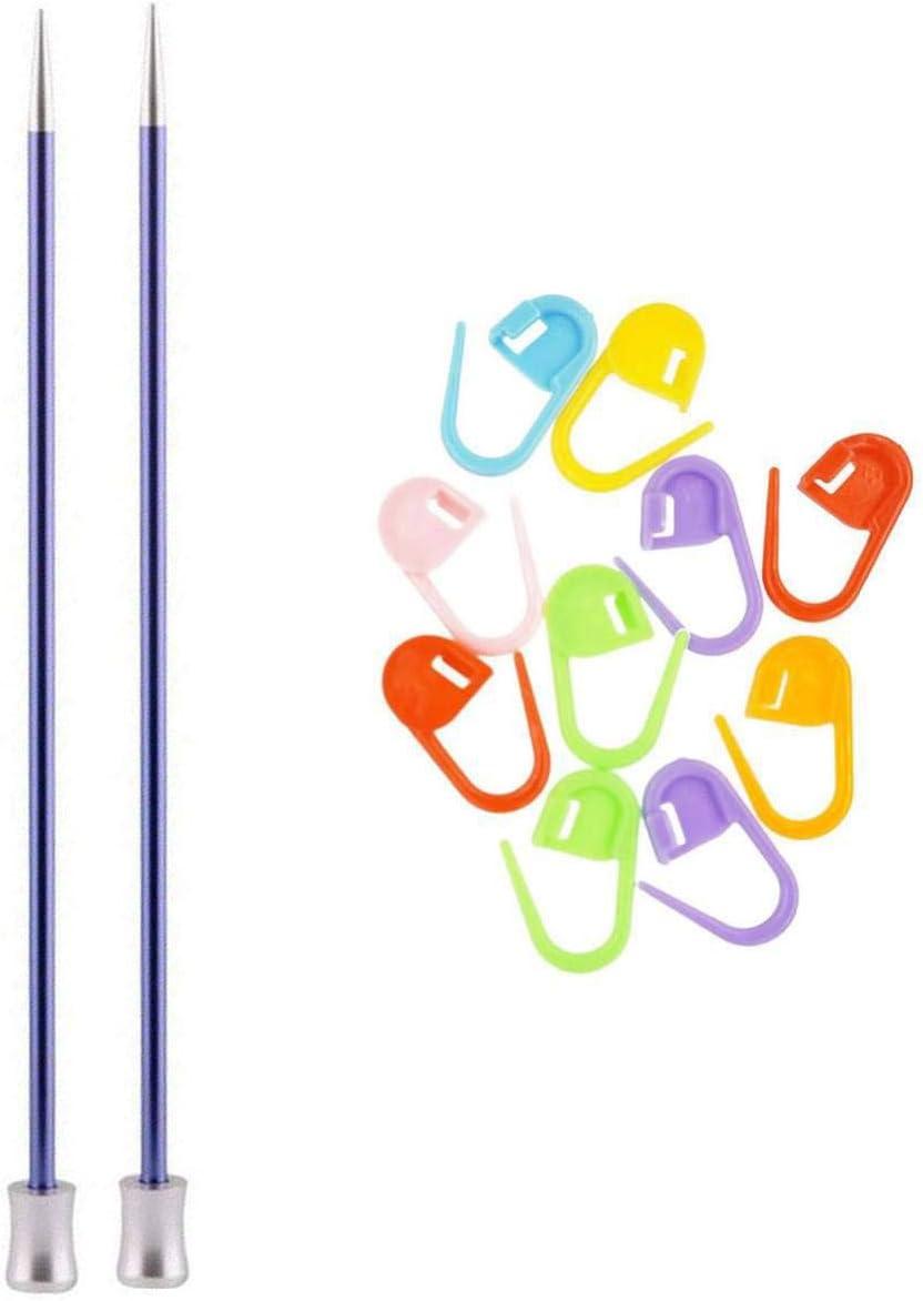 Max 71% San Antonio Mall OFF Knitter's Pride Knitting Needles Zing Straight Size 10 7 US inch