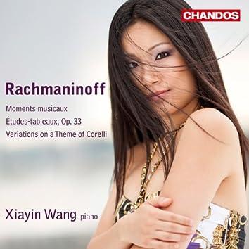 Rachmaninoff: Moments musicaux - Études-tableaux, Op. 33 - Variations on a Theme of Corelli