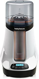 Baby Brezza Safe & Smart, Electric Baby Bottle Warmer and Baby Food Warmer – Universal Fit - Glass, Plastic, Small, Large, Newborn Feeding Bottles - Wireless Bluetooth Control - Digital Display