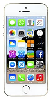 "Apple iPhone 5s, 4"" Display, 64 GB, 2013, Gold (B00F8JDBT0) 
