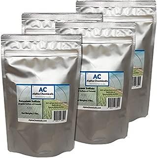 20 Pounds - Potassium Sulfate - Sulfate of Potash - Organic
