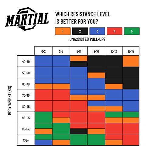 Preis-Leistungs-SIEGER bei vergleich.org: MARTIAL Resistance Bänder für optimales Training! Abbildung 3