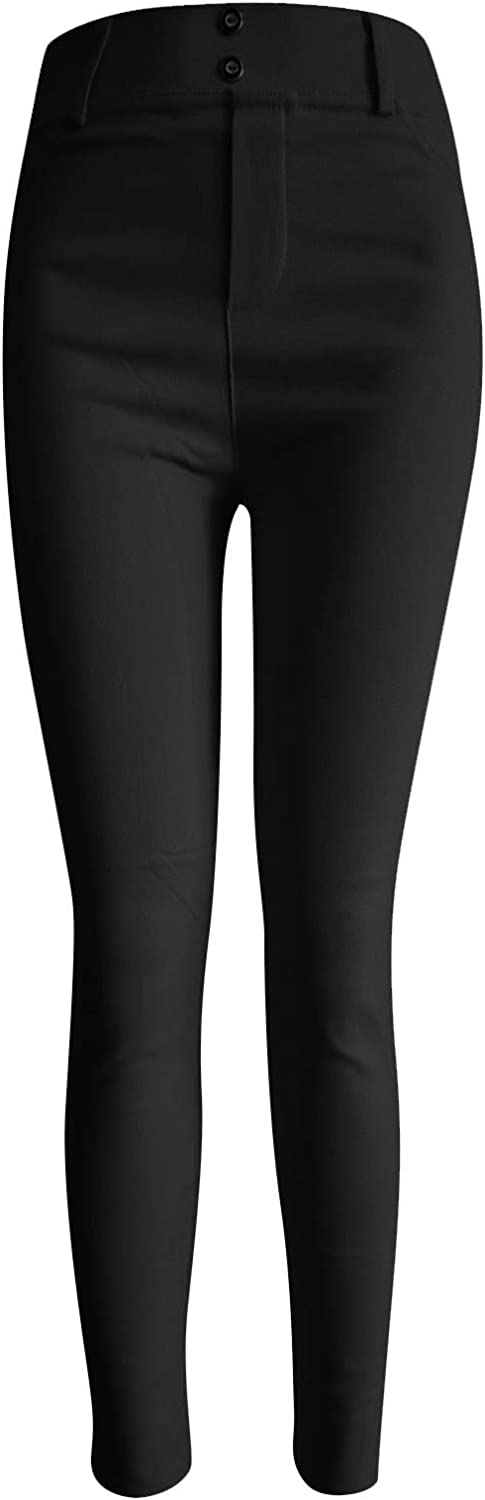 Women's Butt Lift half 100% quality warranty Sports Pants Slim Casual Stretchy Color Solid