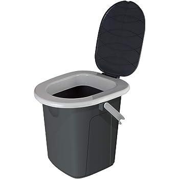 WC Toilette Reisetoilette  Campingtoilette Eimer Toiletteneimer  Angeln Jagd
