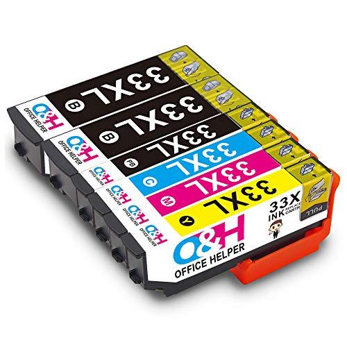 OFFICE HELPER 33XL 33 Cartuchos Tinta Compatibles