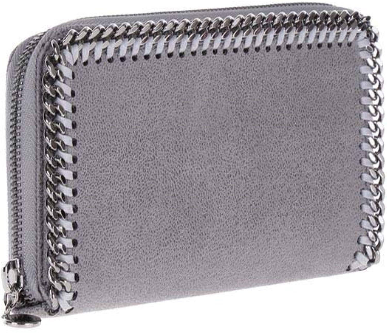 Stella McCartney Damen 434750W91321220 Grau Grau Grau Polyester Brieftaschen B01M0E8VVX dd90f2