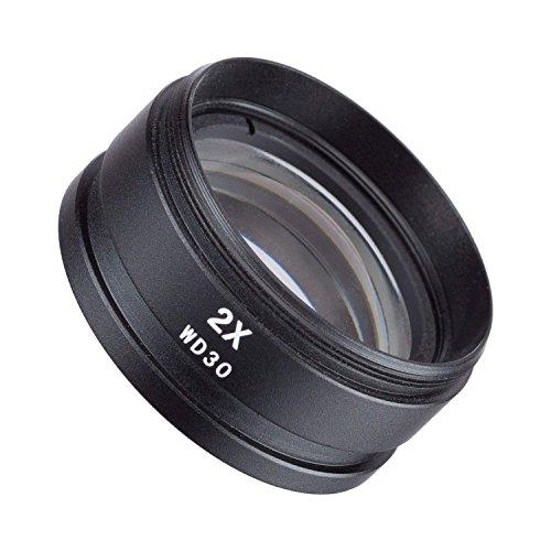 Vision Scientific VAF20 2X Barlow Lens for Stereo/Industrial Microscopes (48mm) (Suitable for VS-1F VS-2F VS-3F VS-5F VS-7F VS-8F VS-9F Series)