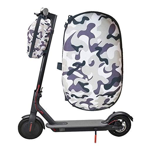 Jinclonder Draagtas, opbergtas voor Xiaomi M365 elektrische scooter, hoofdtas, vouwfiets, stuurtas, fiets, vooraan, waterdichte zakken, universeel, draagbaar, instelbaar