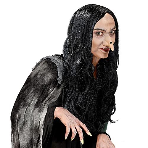 Widmann - Pe184 - Perruque sorciere noire