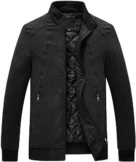 Men's Jacket, high-end Atmosphere Fur Warm Outwear Autumn Winter Stand Collar Slim Coat Warm Tops