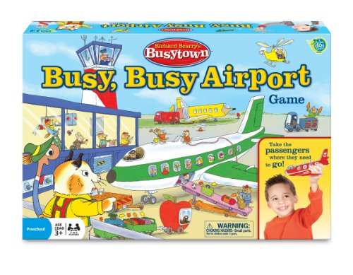 Wonder Forge Richard Scarry Airport Game