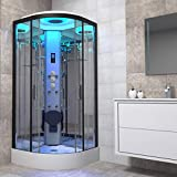 <span class='highlight'>Insignia</span> Non-Steam <span class='highlight'>Shower</span> Cabin Enclosure 800 x 800mm Premium Range Body Jets