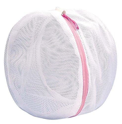 オーエ ML ランジェリー ネット ホワイト 直径約24cm デリケートな 衣類を 優しく 洗う