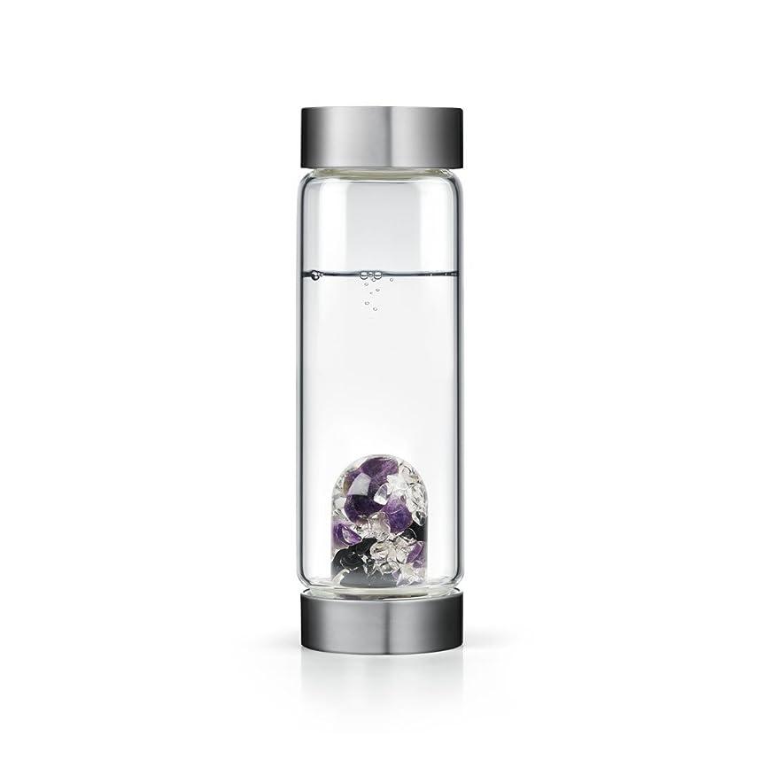 ニックネーム処理死傷者Guardian gem-waterボトルby VitaJuwel W / Freeカリフォルニアホワイトセージバンドル 16.9 fl oz