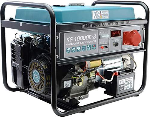 K&S | Könner&Söhnen | Benzin Generator | 230V | 400V | 8KW | Stromaggregat | KS10000E-3 | Stromerzeuger
