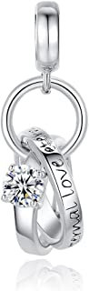 Jewelry - Eternal Love Ring Charm - 925 Sterling Silver