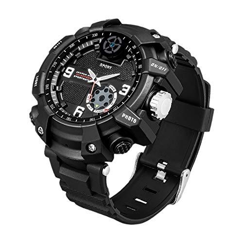 #N/A/a Reloj Inteligente IP67 Resistente al Agua 2,6 K HD para Deportes, Salud y Fitness, para grabadora de vídeo, esquí, Paracaidismo, Actividades al Aire