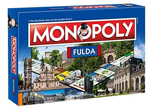 Winning Moves 41740 Monopoly - Fulda, Gesellschaftsspiel
