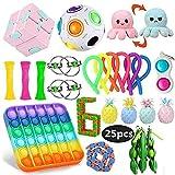 WEDSFC Fidget Toy Packs, Set De Juguetes Sensoriales Fidget Baratos,Juguetes Antiestrés Sensoriales,Juguetes Antiestrés para Niños,Juguetes De Fidget,Juguetes Sensoriales Kit,Juguetes Autismo,A