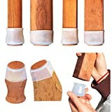 40Pcs/Chair Leg Covers,Furniture Feet Caps with Felt Pads,Wood Floor Protectors,Silicone Furniture Cups to Prevent Scratches and Reduce Noise for Hardwood Floors & Laminate Flooring. [COSING]