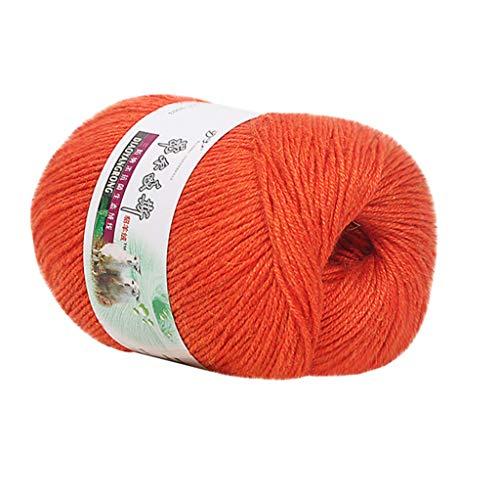 Bascar 100% Merinowolle zum Stricken & Häkeln mit 4-5 cm dickem Garn   Dicke Merino Wolle für XXL Schal, Decke & Kissen