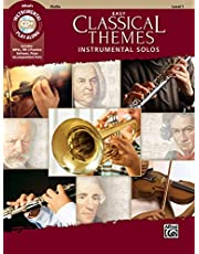 Easy Classical Themes Instrumental Solos for Strings: Violin, Book & CD