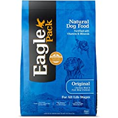 Complete & Balanced: All Natural, Delicious Dry Dog Recipe For Everyday Nutrition For Your Dog. Quality Ingredients: Made With All Natural, Delicious Quality Ingredients, Including Premium Protein From Real Chicken & Pork. All Natural: Contains Only ...