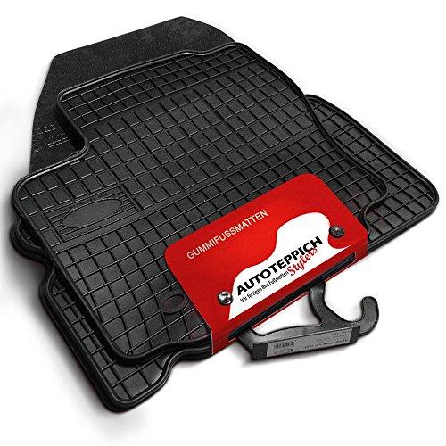 Autoteppich Stylers Gummimatten passend für Opel Mokka ab 2012-4tlg