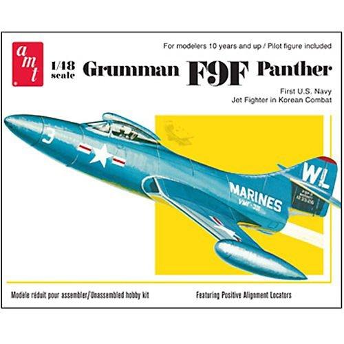 1/48 US Navy combattant des porte-Grumman F9F Panther (japon importation)