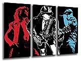 Poster Fotográfico ACDC, Musica Rock Tamaño total: 97 x 62 cm XXL