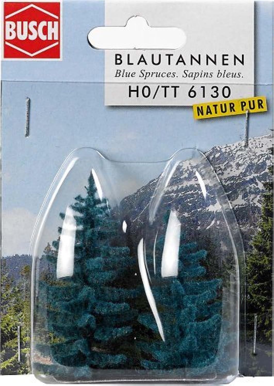 HO Scale bluee Spruce 55mm, 70mm 2  by Busch