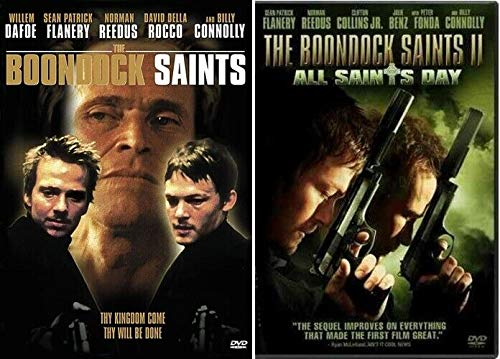 The Boondock Saints 1 One & 2 Two All Saints Day (2 DVD Set, 2006) Sean Patrick Flannery