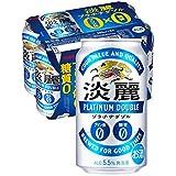 【発泡酒】[糖質ゼロ・プリン体ゼロ]キリン 淡麗プラチナダブル [350ml×6本]